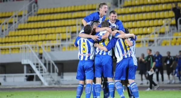 Late Bajrami goal gives Renova a slender lead in Europa League tie
